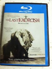 The Last Exorcism (Blu-ray Disc, 2010) Starring Ashley Bell & Tony Bentley.