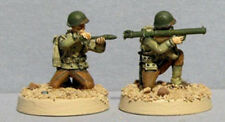 TQD Ai05 20mm Diecast WWII USA Infantry Bazooka Team Wearing Parsons Jackets