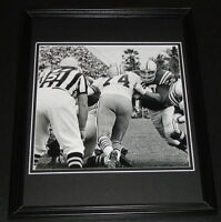Jim Parker Framed 11x14 Photo Display Colts