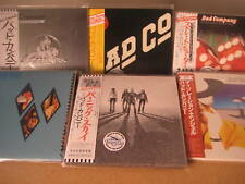 BAD COMPANY RODGERS JAPAN REPLICAS 2007 AUDIOPHILE LIMITED EDITION 6 OBI CD SET