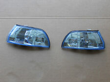 1990 1991 1992 1993 ACURA INTEGRA RS GS LS JDM CLEAR BLUE FRONT CORNER LIGHTS