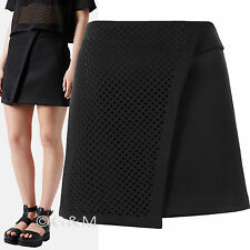 Topshop Faux Wrap Mini Scuba Skirt Formal Work Evening Party A-Line RRP £55