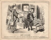 Vintage Punch Political Cartoon August 1876 - Parliamentary Business