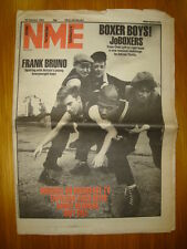 NME 1983 JAN 29 JOBOXER FRANK BRUNO NEWMAN SOFT CELL