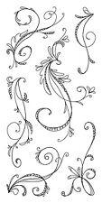 Inkadinkado Clear Stamps - Sketchy Flourishes, Flourish