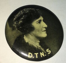 Rare District Trained Nurses Society World War I Australia Pinback Button! Wwi