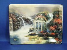 "1998 Thomas Kinkade ""Hidden Arbor"" Fine Porcelain Decorative Plate W/ Coa #4428A"