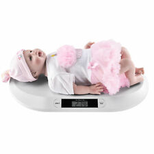 [pro.tec] Babywaage 20kg Weiß Säuglingswaage Stillwaage Kinderwaage Digitalwaage