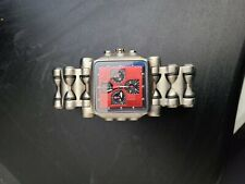 oakley minute machine titanium watch