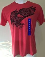 NWT Men's Galt Signature American Shirt - Red Eagle Proud to be American Large