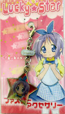 Lucky Star Tsukasa Fastener Accessory Metal Charm Anime Manga Game MINT