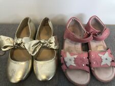 CLARKS & B COLLECTION kids shoes x 2 - > GIRLS Size 1