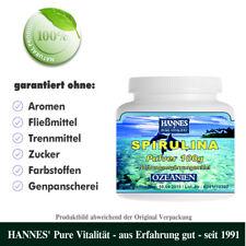 Spirulina Alge 100g Pulver - Beste HANNES' Qualität