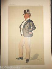 Henry Lorton Bourke JP MP: Original Spy Vanity Fair Print 30/8/1890, Lord Harry