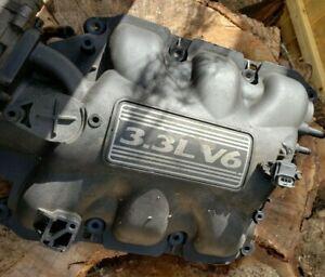 2003 03-05 DODGE CARAVAN 3.3L ENGINE UPPER INTAKE MANIFOLD OEM