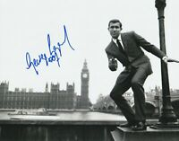 George Lazenby Autograph 8X10 Photo James Bond 007 Agent Signed COA