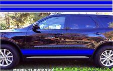 Plain Rocker Stripe Stripes Decals Decal Graphics fit any yr Dodge Durango Dart
