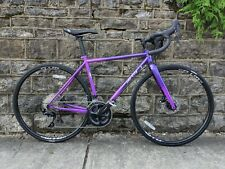 New All-City Zig Zag 700c Steel Purple Fade 46cm Shimano 105 Double road bike