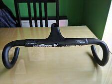 Carbon Handlebars Integrated Road Race Lightweight Aero 28.6mm 420mm 100mm Garmi