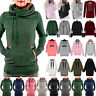Women Sweatshirt Hoodie Hooded Pullover Winter Casual Tops Coat Jumper Hoody