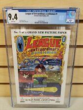 League of Extraordinary Gentlemen #1 1999 America's Best Comics CGC 9.4