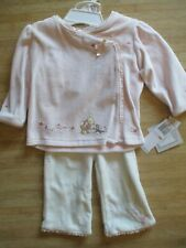 Disney Pooh, Little Roo Baby Girls 9 Months Two Piece Pants Set Pink $32 Retail