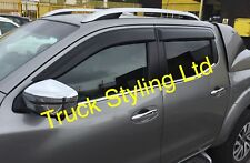 Nissan Navara NP300 Wind Visors / Deflectors / Guards 2017+ Models x4 Pieces