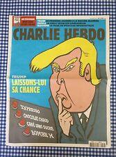 CHARLIE HEBDO DONALD TRUMP!!!  1278 rare - 18.01.2017