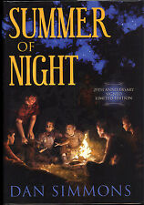 Summer of Night by Dan Simmons - Signed Limited 25th Anniversary Edition - New!