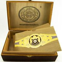 Remedios 92 Flor Fina Spanish Cedar Cigar Box w/Brass Hinges & Closure NICE COND