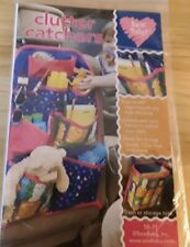 SewBaby! Clutter Catchers, back seat, car seat storage or tote Sewing Pattern
