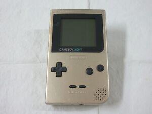D412 Nintendo Gameboy Light console Gold Japan GB
