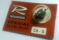 NOVAROSSI c8s RC auto 1/10 1/8 Nitro Motore CANDELETTA Freddissimo Buggy Starter