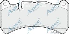 FRONT BRAKE PADS FOR MASERATI GRAN TURISMO GENUINE APEC PAD1488