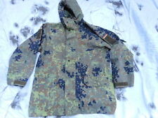 GERMAN ARMY waterproof goretex SMOCK coat JACKET FLAKTARN FLEKTARN CAMO