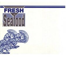 Fresh Seafood Sale Price Cards/Signs-11