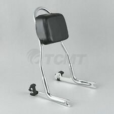 Detachable Sissy Bar Backrest For Harley Softail Night Train Fat Boy FLS FXS USA