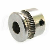 1PC Stainless Steel Extruder Drive Gear Hobbed For 1.75mm Reprap 3D MK7 Printer