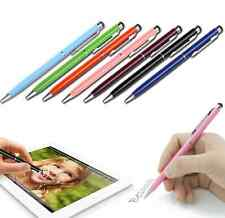 10Pc 2 in1 Touch Screen Stylus Ballpoint Pen for iPad iPhone Smartphone Tablet B