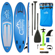 Stand Up Paddleboard Adult Inflatable Surf Board Paddle W/Accessories Thick 11FT