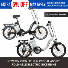 Unisex Adults E-Folding Bike Electric Bikes