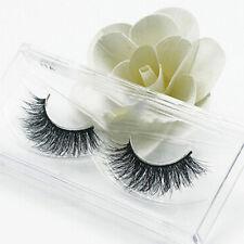 Newest 3D Mink False Thick Strip Natural Eyelashes Makeup Thick Black Eye Lashes
