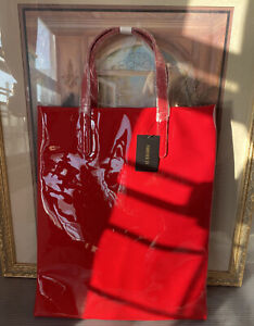 Flirty Red Glam Tote Bag!! Brand New!