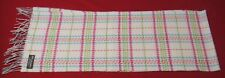 NWOT Burberry of London Light Beige Checks Cashmere Men's Scarf - Scotland