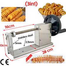 Manual-Spiral-Potato--Curly-Fries-Twister--Hot-Dog-Cutter-tornado Slice