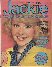Jackie Magazine 9 June 1979 No. 805 Billy Idol Shaun Cassidy & Parker Stevenson