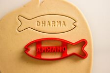 LOST TV Show DHARMA Initiative Fish Biscuit Cookie Cutter