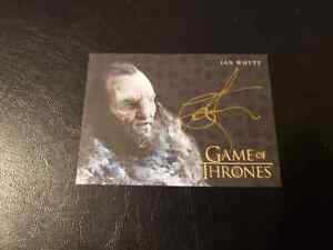 IAN WHYTE GAME OF THRONES COMPLETED AUTOGRAPH AUTO WUN WUN READ PWE