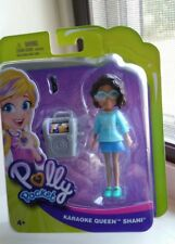 Mattel Polly Pocket Karaoke Queen Shani Doll 2018 Fashion Doll Black AA HTF