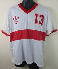 Retro Football Shirt Soccer Jersey Vtg Vintage 80s Maillot Maglia Mens Medium M